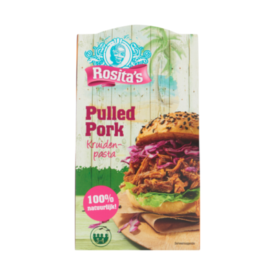 Rosita's Pulled Pork Kruidenpasta