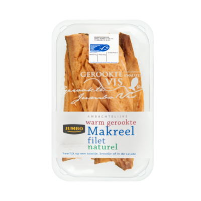 Jumbo Ambachtelijke Warm Gerookte Makreel Filet Naturel