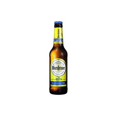 Warsteiner Radler 0.0% Citroen Bier
