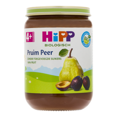 HiPP 4+ Pruim peer biologisch