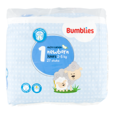 Bumblies Luiers newborn 1