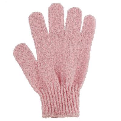Huismerk Scrub glove pink