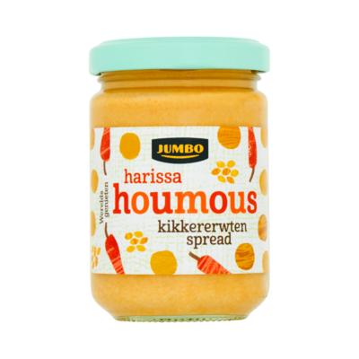 Huismerk Harissa Houmous Kikkererwten Spread