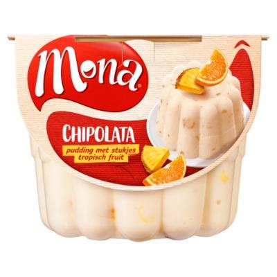 Mona pudding chipolata 450 ml.