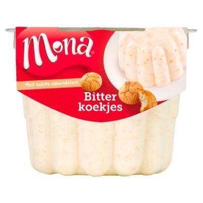 Mona pudding bitterkoekjes 450 ml.