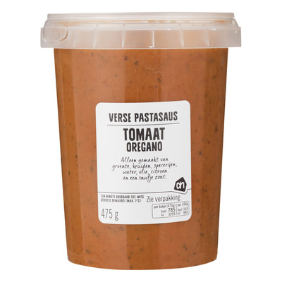 Huismerk Verse pastasaus tomaat oregano