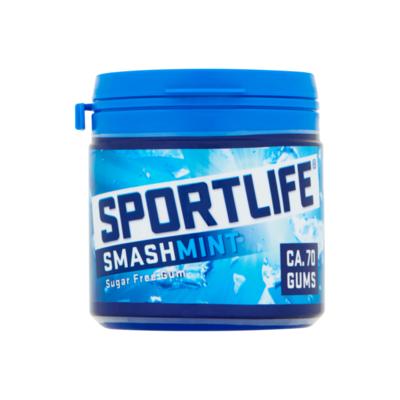 Sportlife Smashmint Suikervrij Kauwgom Pot