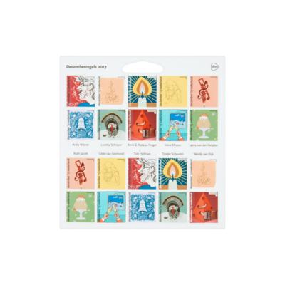 PostNL Decemberzegels