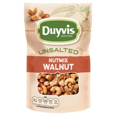 Duyvis Unsalted Noten Nutmix Walnut 125g