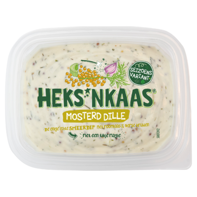 HEKS'NKAAS® Mosterd Dille 150 g