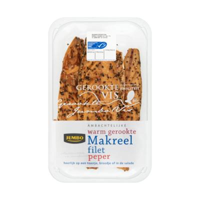 Jumbo Ambachtelijke Warm Gerookte Makreel Filet Peper