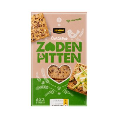 Huismerk Crackers Zaden & Pitten