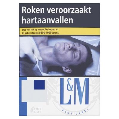 L&M sigaretten blue label
