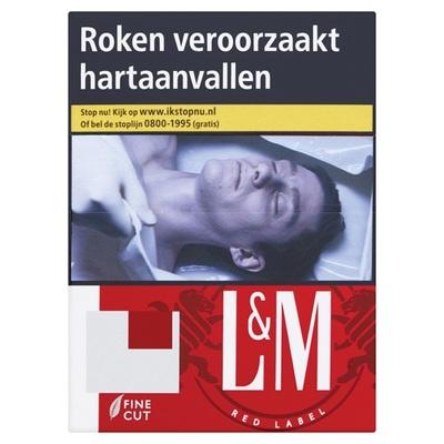 L&M sigaretten red label