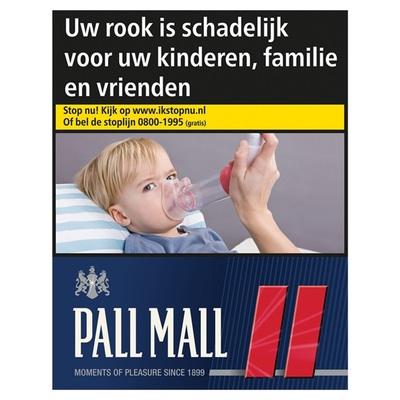 Pall Mall sigaretten red mega
