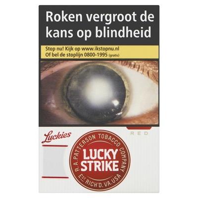 Lucky Strike sigaretten red L