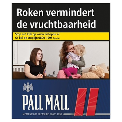 Pall Mall sigaretten red XXL