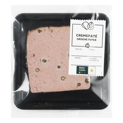Huismerk Crèmepaté groene peper