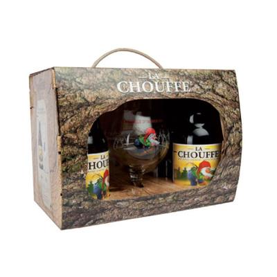 La Chouffe + glas