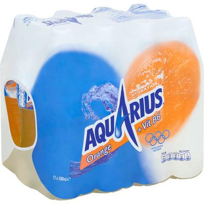 Aquarius Orange met sportdop tray