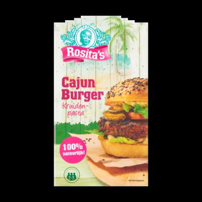 Rosita's Cajun Burger Kruidenpasta