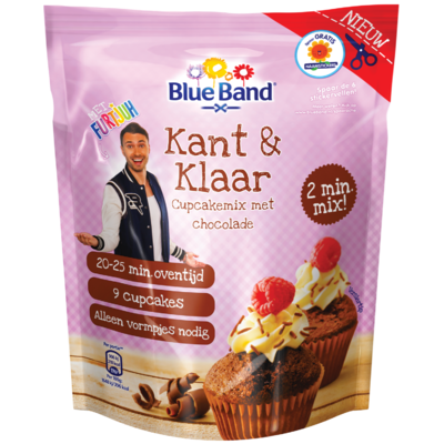 Blue Band Cupcake mix chocolade