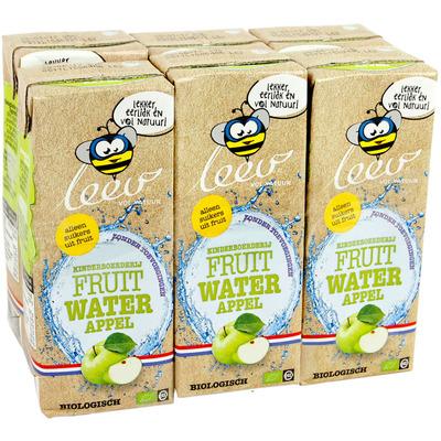 Leev Fruitwater aardbei-kers biologisch