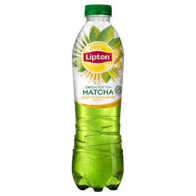 Lipton Matcha green ice tea ginger-lemongrass