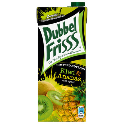 DubbelFrisss Ananas-kiwi limited edition