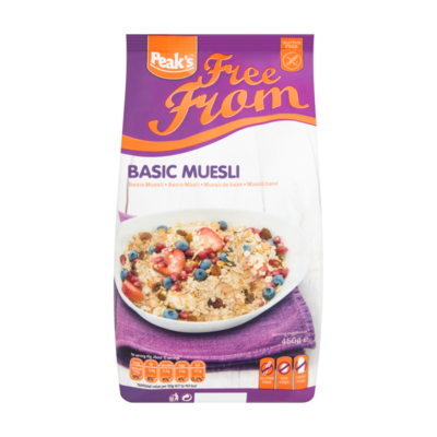 Peak's Free From Basis Muesli