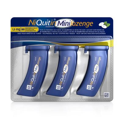Niquitin Minimint zuigtabletten 1,5 mg