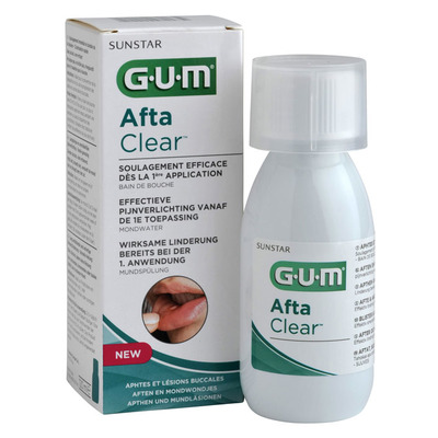 GUM Aftaclear mondwater