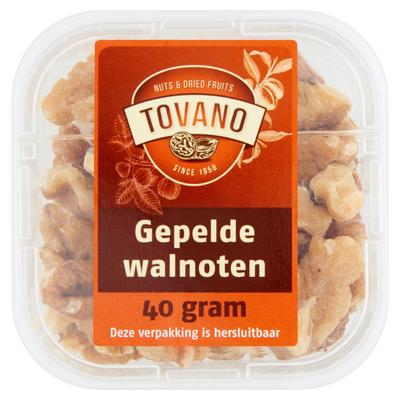 Tovano Walnoten Gepeld 40 g
