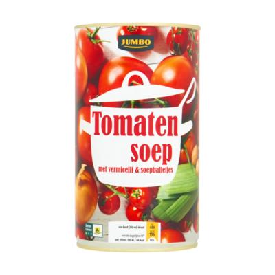 Huismerk Tomatensoep met Vermicelli & Soepballetjes