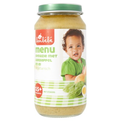 Bonbebe 15mnd spinazie 250 gram
