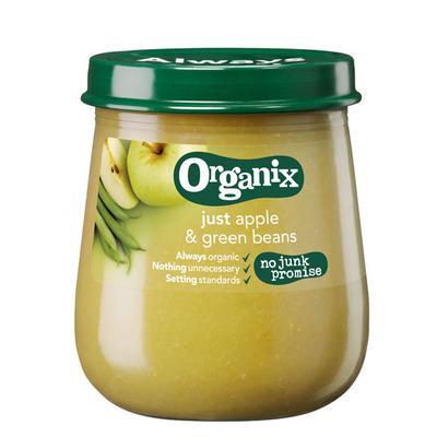 Organix Appel & groene bonen 6+ mnd