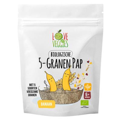 Love my veggies 5 Granenpap banaan 6m