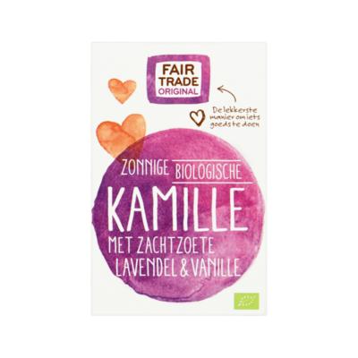 Fair Trade Original Biologische Kamille met Lavendel & Vanille 20 zakjes à