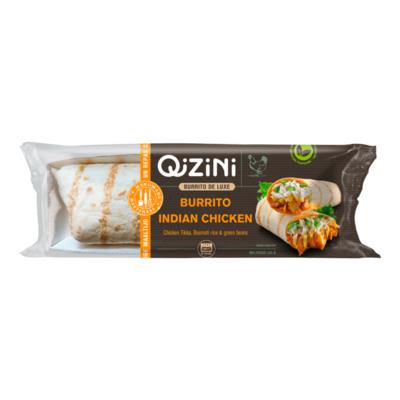 QiZiNi Burrito de Luxe Burrito Indian Chicken
