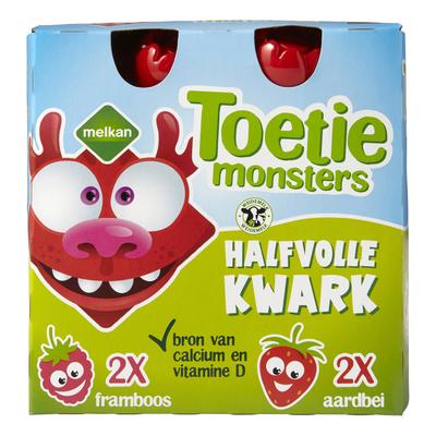 Melkan Toetiemonster Kwark Pouch