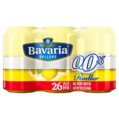 Bavaria 0.0% Radler lemon