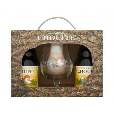 La Chouffe Trial pack met glas