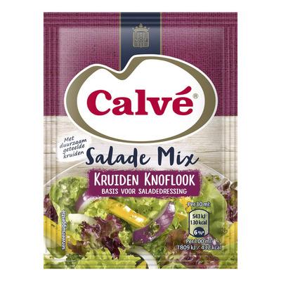 Calvé Salademix kruiden knoflook