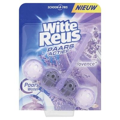Witte Reus paars actief toiletblok Provence lavendel