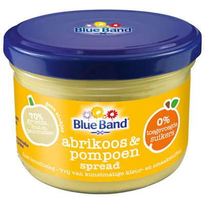 Blue Band Abrikoos & pompoen spread