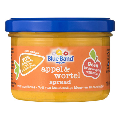 Blue Band Appel & wortel spread