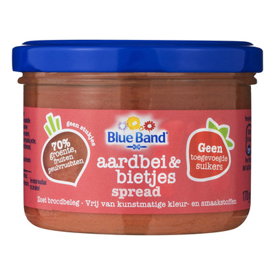 Blue Band Aardbei & bietjes spread