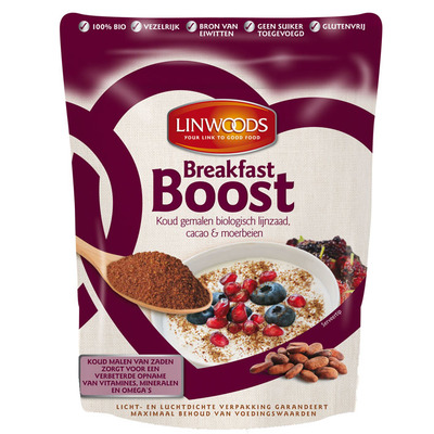 Linwoods Breakfast boost cacao