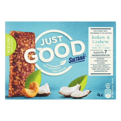 Sultana Just good kokos-cashew