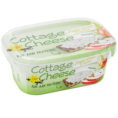 Cottage cheese appel - peer